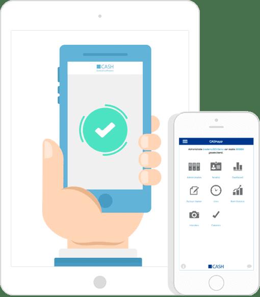 Factureren met de app